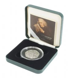 2005 Silver Proof Piedfort 50p - Johnson's Dictionary for sale